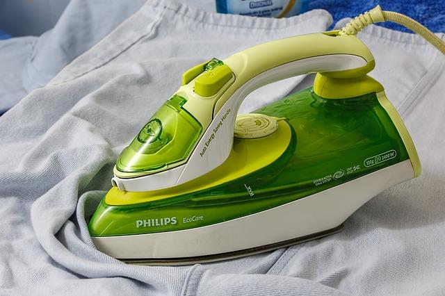 žehlení prádla