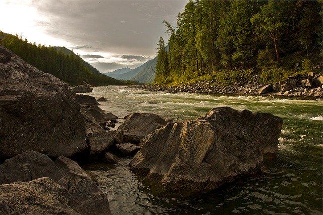 řeka, příroda